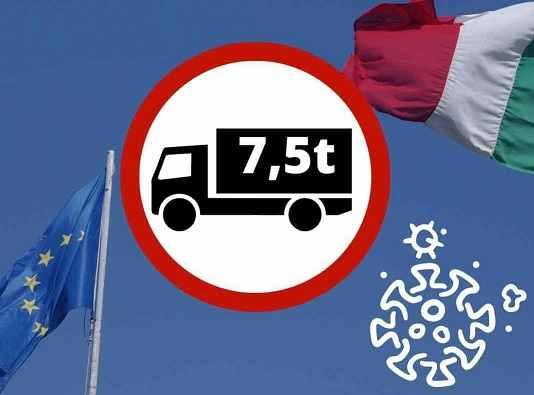 Autotrasporto: Proroga sospensione divieti mezzi pesanti durante marzo 2021